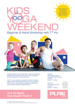 Kids Yoga Weekend - March 2019