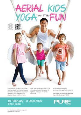 Aerial Kids Yoga Fun - 2019
