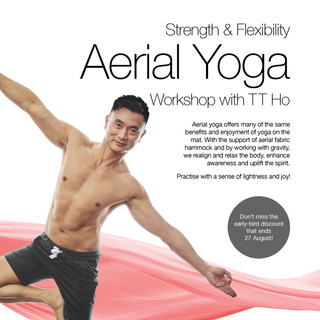 Aerial Yoga - Workshop - September 2017