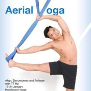 Aerial Yoga - Workshop - January 2016 -