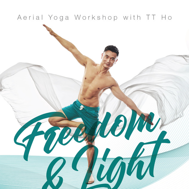 Aerial Yoga - Workshop - February 2018 -