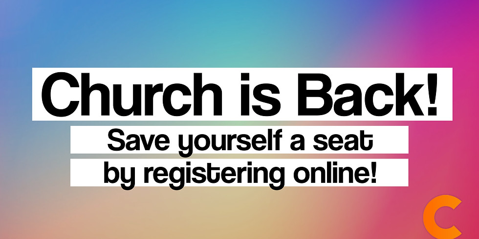 Church service is at capacity! Please fill out the contact form to join us online!