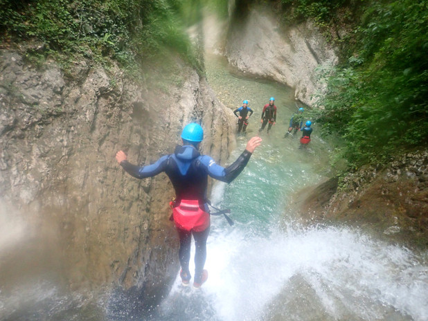 canyoning vercors