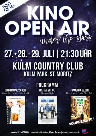 Plakat Kino Open Air 2017