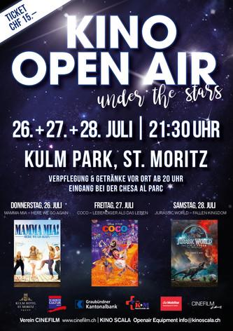Plakat Kino Open Air 2018