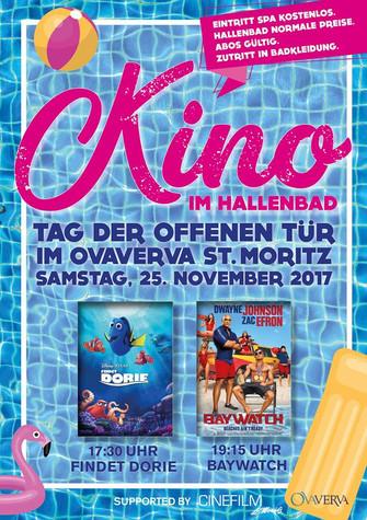 Plakat Kino im Hallenbad 2017