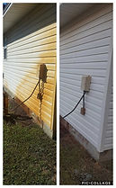 Irrigation rust removal from siding by Northwest Florida Pressure Washing in Destin, FL