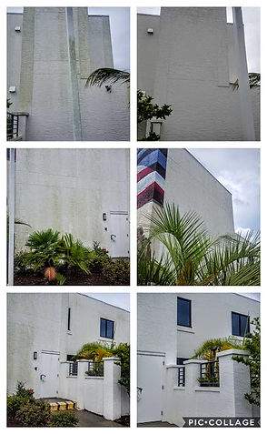 Commercial building wash by Northwest Florida Pressure Washing in Fort Walton Beach, FL