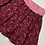 Thumbnail: Burgundy Rainbows Twirly Skirt