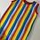 Thumbnail: Stripe Up Your Life Short Jumpsuit