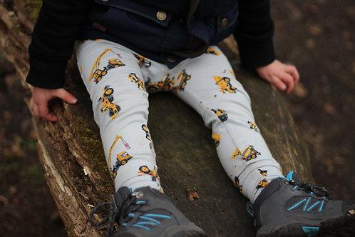 Grey Diggers Leggings