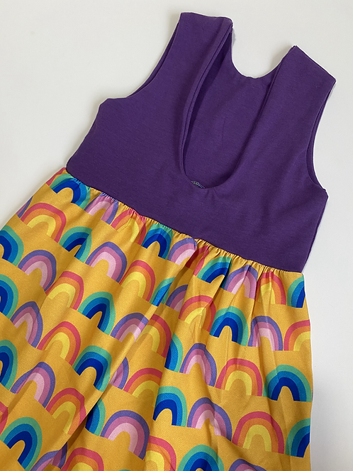 Retro Rainbows Festival Romper