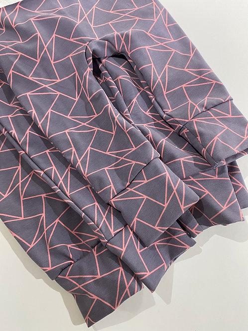 6-12m Pink Outline leggings