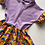 Thumbnail: Retro Rainbows Twirly Dress