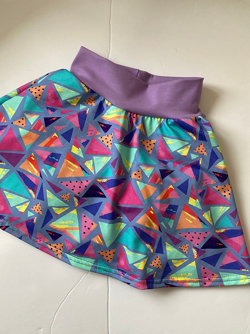 90s Retro Twirly Skirt