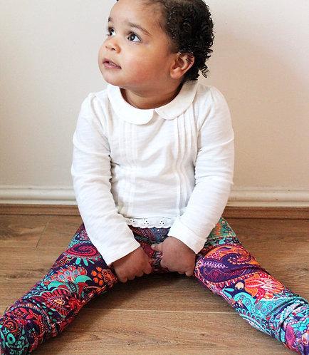 Paisley leggings