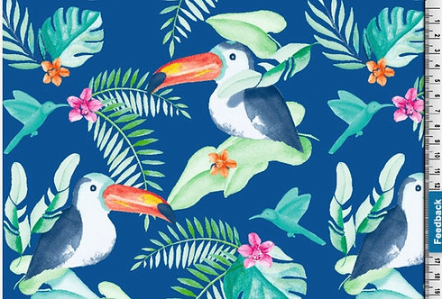 Toucans Dungaree Dress