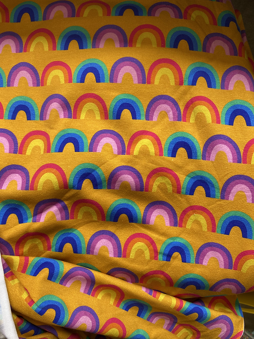 Retro Rainbows Twirly Dress