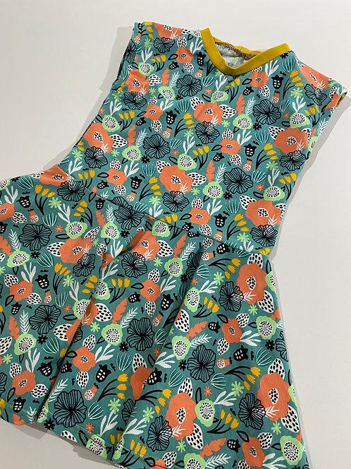 3-4y Spring Floral twirly dress