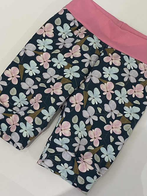 Geo Floral Shorts