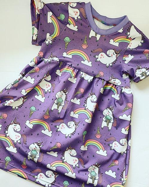 Ice Cream Unicorn Dress