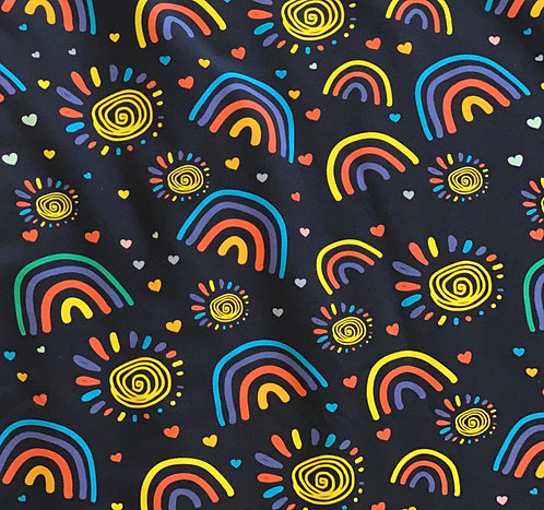 Sunshine Rainbow Twirly Skirt