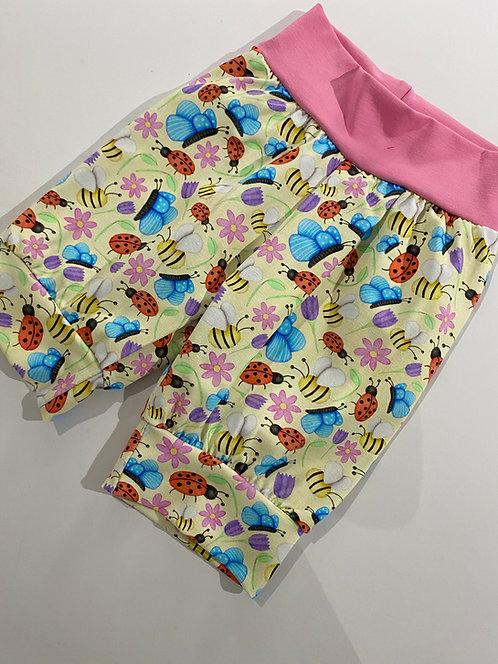 3-4y Busy Bugs shorts