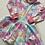Thumbnail: Pastel Tie Dye Twirly Dress