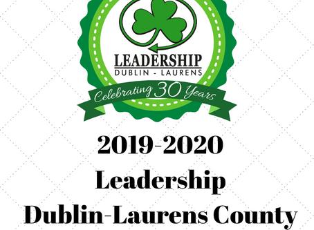 Leadership Dublin-Laurens County Announces 2019-2020 Class
