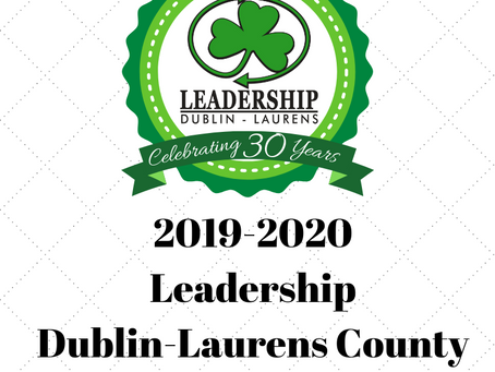 Leadership Dublin-Laurens County Announces 2019-2020 Class