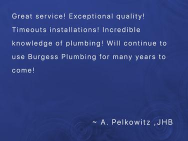 Pelkowitz Testimonial