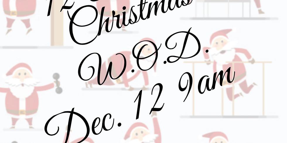 12 Days of Christmas WOD