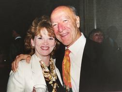 Cheri with Robert Mondavi