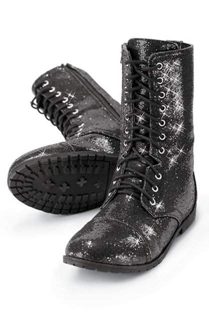 Idol-X & Travel: Glitter Boot