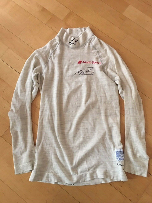 Nomex Race Used - Benoit Treluyer - Audi Le Mans - Signed