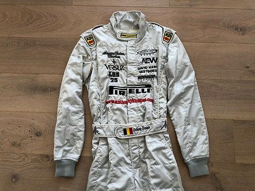 Race suit used - Anthony Kumpen - Le Mans 2003 - Pagani Zonda