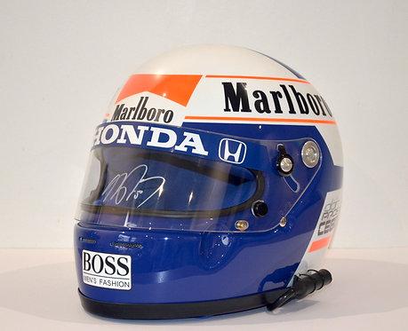 Helmet Replica Mclaren F1 - Alain Prost - 1989 - Arai - Signed