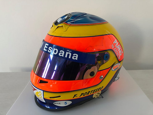 Race Helmet Used - Félix Porteiro - GP2 2006 - BMW WTCC 2007