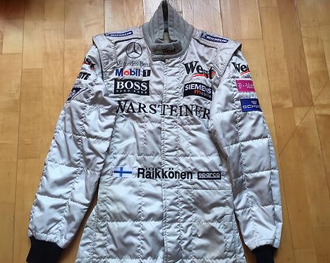 Suit Race Kimi Raikkonen Mclaren F1 2002