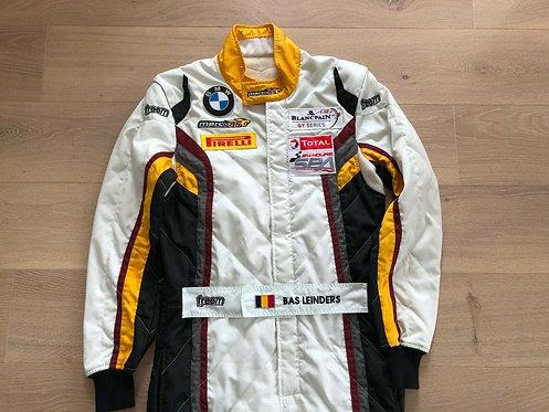 Original Race used suit 2014 Bas Leinders BMW Z4 Blancpain Marc VDS