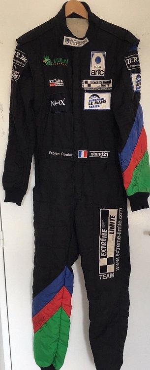 Suit Race Used - Fabien Rosier 24 H du Mans 2013 - signed