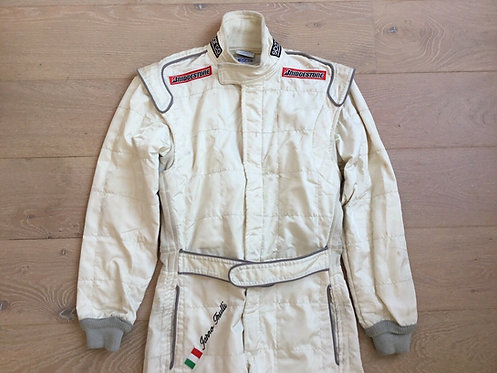 Original Suit Used Testing - Jarno Trulli Jordan F1