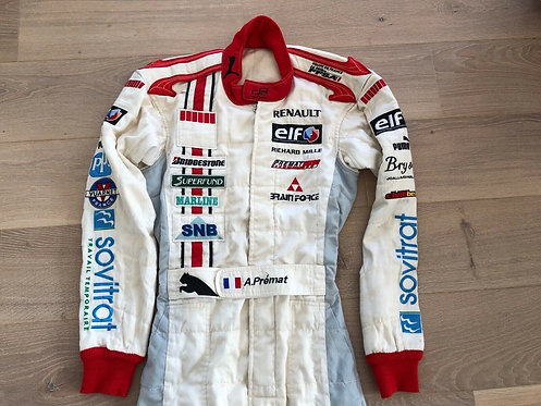 Suit Race Used - Alexandre Premat - GP2 ART Grand Prix 2006