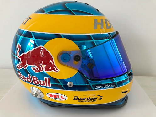 Sebastien Bourdais : Replica helmet - Peugeot 908 Le Mans 2009