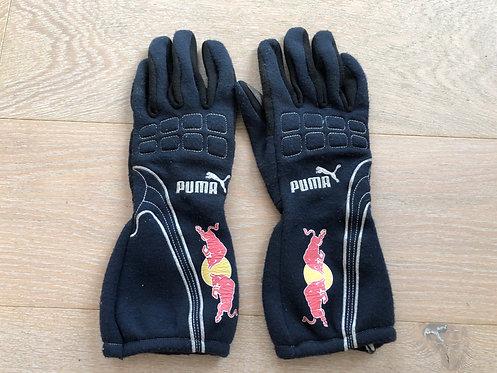 Race Gloves Used - Red Bull Junior Team