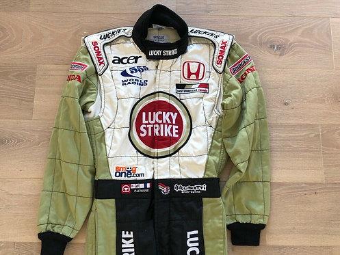 Suit testing used : Patrick Lemarié - BAR Honda F1 - Full Tabac