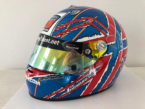 Helmet - Jay Howard + Visor  Signed