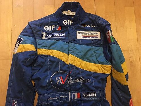 Suit Driver Used - Alexandre Premat - Formule Renault