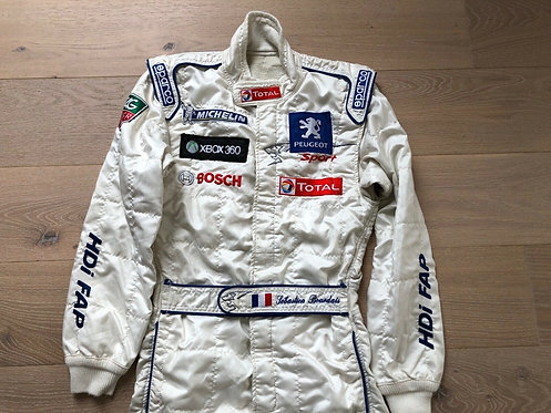 Sebastien Bourdais Original Suit - Peugeot 908