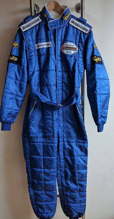 Driver Suit used : Guy Smith - indy Car - signed - 2004